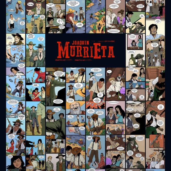 Joaquin Murrieta Graphic Novels